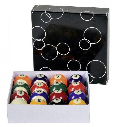 Winsport Kugelsatz Pool Kugeln PROFESSIONAL 48 mm