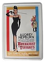 オードリーヘップバーン Breakfast at Tiffanys / ポストカード(ブリキ製)