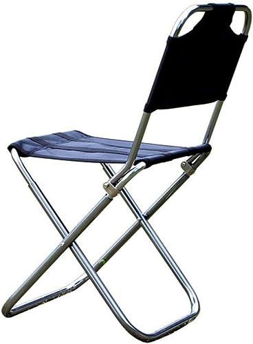 Chaise de camping pliante en plein air 7075 en alliage d'aluminium de pêche de camping Tabouret de BBQ Tabouret pliant