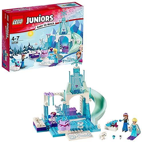 lego frozen magico castello di ghiaccio LEGO Juniors 10736 - Il Castello di Ghiaccio di Elsa e Anna