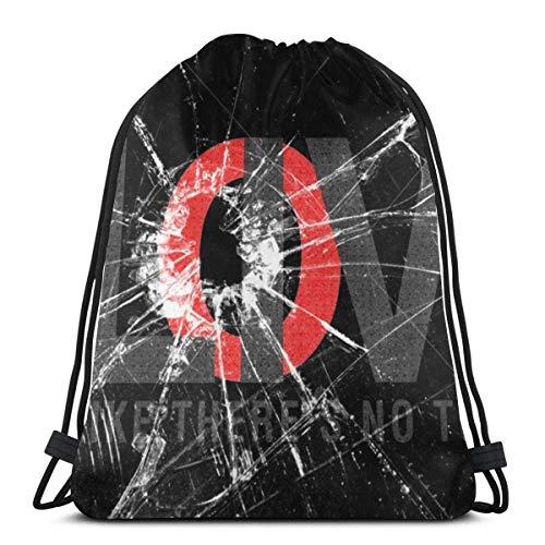 Almost-Okay-Shop Drawstring Backpack Bags Love Glass Broken (2) Adult Lightweight Sport Gym String Storage Sackpack