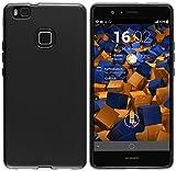 mumbi Hülle kompatibel mit Huawei P9 Lite Handy Case Handyhülle, schwarz