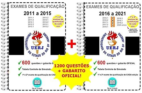UERJ 2011 a 2021 Provas Anteriores Exames de Qualificação + gabarito OFICIAL