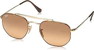 Ray-Ban RB3648 Marshall Aviator Sunglasses, Havana / Brown Gradient, 51 mm, Non-Polarized