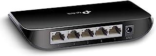 TP-Link TL-SG1005D 5-Port Desktop Gigabit Ethernet Switch/Hub, Network Splitter, Plug and Play, Plastic Case