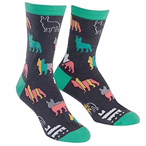 Sock It To Me Calcetines de tripulación, Calcetines de Bulldog francés para...