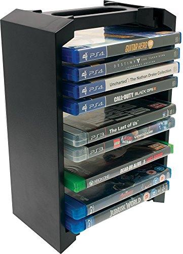 Venom Games Storage Tower für bis zu 12 PS4, PS3 oder Xbox One Spiele oder blu rays