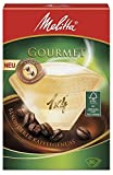 Melitta Gourmet Coffee Filters Size 1x4, 80 Coffee Filters, For Filter Coffee Makers, Brown