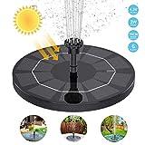 WOHOOH Solar Springbrunnen mit 3W Solar...