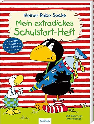 Der kleine Rabe Socke: Mein extradickes Schulstart-Heft