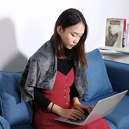 Conveniente y duradera manta calefactora con almohadilla té