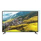 TYRHMY Protector de pantalla de TV de 42 a 75 pulgadas, antideslumbrantes, luz azul, filtro a prueba de polvo, protege tus ojos para LCD, LED, 4K OLED y QLED HDTV, 65 pulgadas 1440 x 809