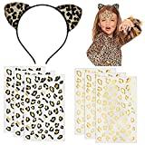 Tuoyi 6pcs Gold and Black Golden Leopard...