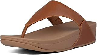 FitFlop Women's Lulu Toe Post Leather Flip-Flop Sandal
