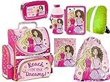 Barbie Schulranzen Set ergonomischer Ranzen Tornis