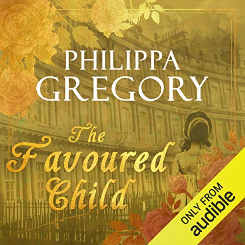 The Favoured Child audiobook cover art