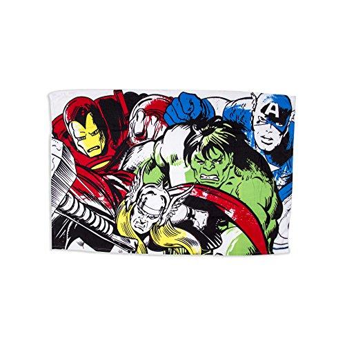 Marvel Comics Fleece Blanket, Multi Coloured, 150 x 100cm