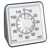 TFA Dostmann VISUAL Timer, 38.2043.10, zum Zeitmanagement, Küchentimer,Timer mit Alarm, Restzeitanzeige