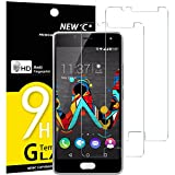 NEW'C Lot de 2, Verre Trempé pour Wiko U Feel Film Protection écran - Anti Rayures...