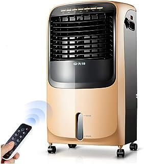 CJC Termoventiladores y calefactores cerámicos 2 en 1 Ventilador Enfriamiento Calefacción 3 Velocidades Oscilación 7.5 Hora Temporizadores Remoto Controlar Ruedas