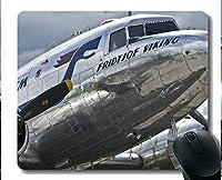 YENDOSTEEN滑り止め天然ゴムマウスパッド、プロペラ飛行機航空機1ゲーミングマウスパッド