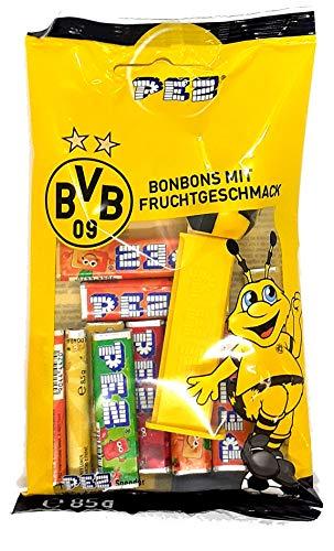 BVB Borussia Dortmund PEZ-Spender inkl. Nachfüllungen 85g