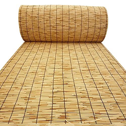 Mingyu Persianas enrollables de láminas, utilizadas en dormitorios, Salas de Estar, Jardines, persianas Romanas Ajustables Marrones 70x120cm