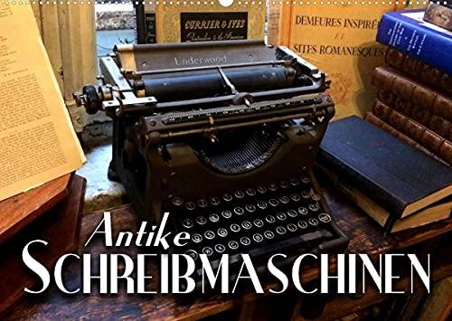 Antike Schreibmaschinen (Wandkalender 2022 DIN A2 quer)