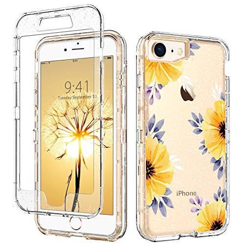 iPhone SE 2020 Case,iPhone 8 Case,iPhone 7 Case,DUEDUE Shockproof 3 in...