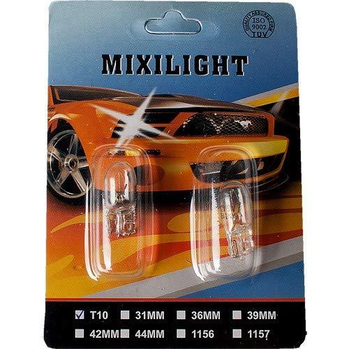 W5W, T10, 12V5W, Doppelpack Standlichter Clear Blub mit E-Prüfzeichen