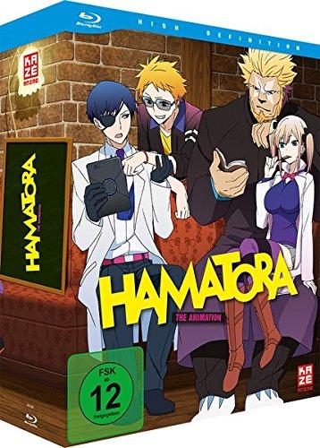 Hamatora-Staffel 1-Vol.1-[Blu-Ray] mit Sammelschuber & Manga [Import]