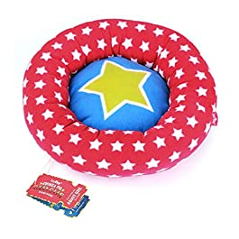 HAYPIGS Guinea Pig Toys and Accessories – Circus Themed Fleece PIGGY CRASH MAT Guinea Pig Bed – Guinea Pig Bedding – Rat Bed – Small Pet Bed – Ferret Bed