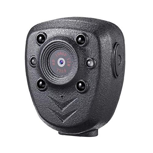 NaiCasy Cuerpo de la cámara Mini usable visión Nocturna 1080P CAM 32GB de Memoria portátil para el hogar al Aire Libre