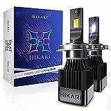 HIKARI 2021 Acme-X H4/9003 LED Bulbs, Ultra...