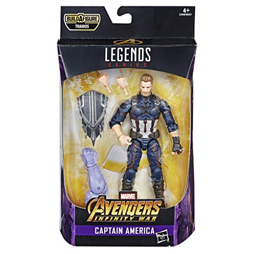 Marvel Classic- Marvel Legends Series Avengers: Infinity War 6-Inch Captain America Figure egends Capitán, Color Nylon/a (Hasbro E3980CB0)