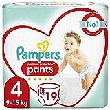 Premuim Protection Pants Size 4, 8-14 kg, 19 Nappies Size 4 - B0721B8MPT