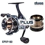 OKUMA (オクマ) スピニングリール + 浅溝スプール セット Epixor XT Plus エピクサー XT Plus EPXP-40