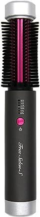 USB充電コードレスヘアロールブラシ Free Salon-S(ダークブラウン)