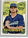 2018 Topps Heritage Minors #161 Ryan Vilade Asheville Tourists RC Rookie MLB Baseball Trading Card. rookie card picture