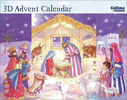 3D Advent Calendar (WDM0079) - Nativity Scene