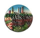 China Refrigerator Magnet,Shanghai 3D Tourist Souvenirs Resin Fridge Magnet Sticker Home and Kitchen Decoration,China Promotion Gift