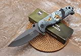 FARDEER Knife Navaja Plegable de Exterior DA-15C