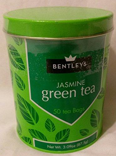 Bentleys Jasmine Green Tea, 50 Tea Bags