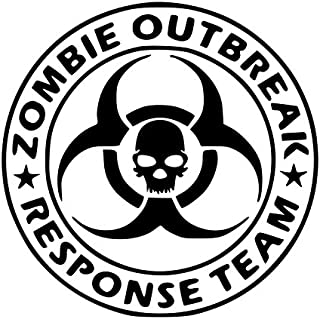 zombie response vehicle sticker