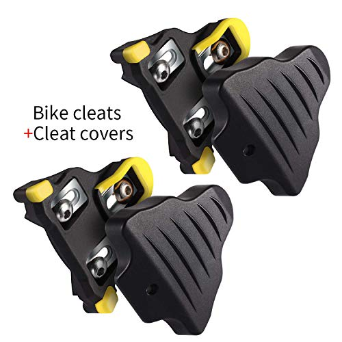 LANNIU SPD SL Shoe Cleats for Spin Bike With 6° Float