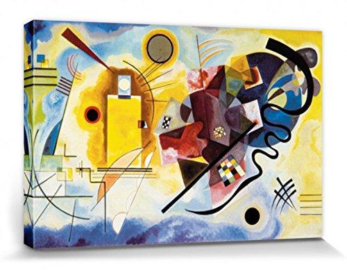 1art1 Vassili Kandinsky - Amarillo Rojo Azul
