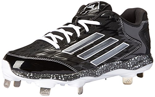 adidas Performance Women's PowerAlley 2 W Softball Cleat, Black/Carbon/White, 6 M US