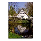 Premium Textil-Leinwand 60 x 90 cm Hoch-Format Altländer