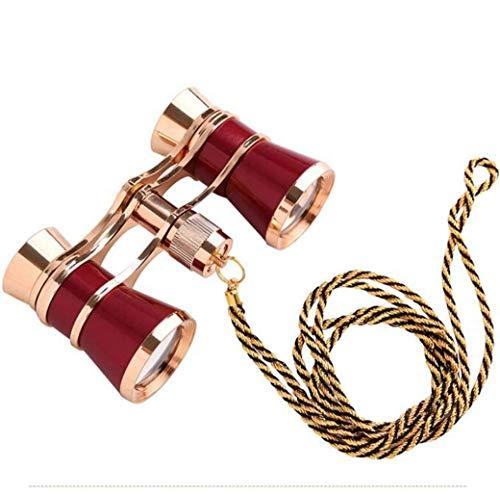 Best Deals! 3X25 Portable Binoculars Stage Drama HD Drama Mini Binoculars Lightweight Outdoor Foldin...