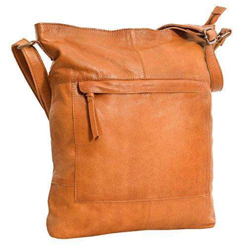 Gusti Handtasche Leder - 'Maola' Ledertasche Umhängetasche Laptoptasche Braun Leder Damen Handtasche Ledertasche Umhängetasche Laptoptasche Braun Leder Damen